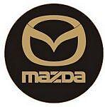 Leather Key Fob Mazda
