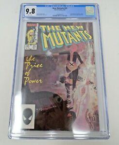 New Mutants #25 1985 [CGC 9.8] Graded High Grade 1st App Legion Marvel Key