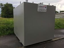 3000 Litre Steel Bunded Heating Oil Storage Tank By Fuel Safe UK