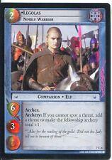 Lord Of The Rings Foil CCG Card RotK 7.C26 Legolas, Nimble Warrior
