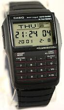 Casio DBC32-1A 25 Page Databank Watch Calculator Illuminator Resin BRAND NEW