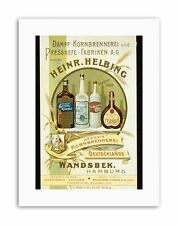 DRINK HELBING LIQUOR HAMBURG GERMANY Canvas art Prints