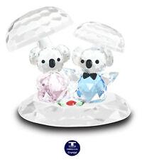 "[Special Offer] ""Koalas & Mushrooms"" Austrian Crystal Figurine was Au$102.00"