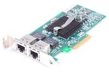 IBM / Intel Pro/1000 PT DUALPORT Gigabit ETHERNET PCIe Card 39Y6128 Low Profile