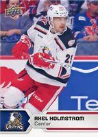 17/18 UPPER DECK AHL #90 AXEL HOLMSTROM GRAND RAPIDS GRIFFINS *47838