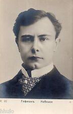 BK053 Carte Photo vintage card RPPC Hoffmann musicien  chef d'orchestre ?