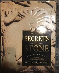 Secrets in Stone Discover the History of Sydney by Geoff Stuart H/C D/J 1993