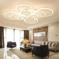 Modern bedroom remote control living room acrylic 4 8 led ceiling 246810 heads post modern led acrylic living room aloadofball Images