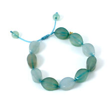 Lola Rose Heidi Friendship Tumble Bracelet in Carribean Blue Montana Agate