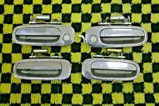 FOR TOYOTA COROLLA AE110 AE111 1998-2002 CHROME  DOOR HANDLE 4 DOORS