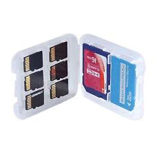 New 8 Slots Micro SD TF SDHC MSPD Memory Card Storage Box Protecter Case Holder