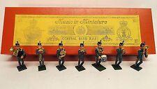 Música En Miniaturas Banda Central R.a.f. En Caja (bs497)