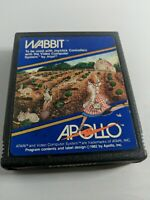 Atari 2600 Wabbit Game Cartridge by Apollo Tested/Works .