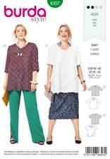 Burda Style Schnittmuster No 6307 Shirt Gr. 46 - 60