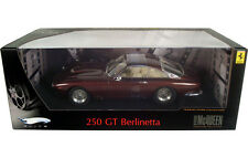 FERRARI 250GT BERLINETTA LUSSO STEVE McQUEEN DIECAST 1/18 HOT WHEELS ELITE P9912
