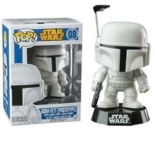 Star Wars Boba Fett White Prototype Armor Exclusive Pop! Vinyl Figure