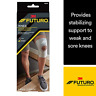 Futuro Stabilizing Knee Support Size Large All-Day Wear. Elastic Knit Knee Brace