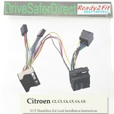 SOT-PC000016AA-07 ISO Cable,adaptor,T-Harness for Parrot CK3100 ,CK3000/Citroen