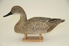 HARM WILCOX PINTAIL HEN DUCK DECOY - SIGNED & DATED 1972 - GREAT DETAILS