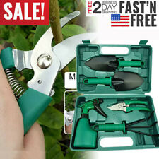 New Gardening Tools Set Portable 5 Pieces Stainless Steel Garden Tool Sets