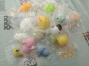 Cute Mini Animal Squishies / Mochi Squeeze Toys 24 pieces