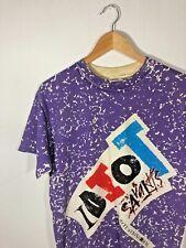 Vintage 90s Mtv Show Promo Idiot Savants Vtg Rare All Over Print Shirt Xl Medium