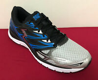 361 Degrees Men's Alpha Running Shoes Grey/Blue/Black Trainers