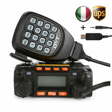 Sainsonic GT-890 + Cable 25W UHF/VHF Dual Band Car Ricetrasmittente Transceiver