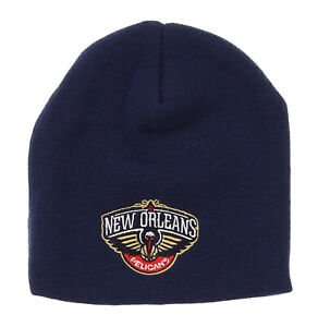 Adidas NBA Toddlers New Orleans Pelicans Basic Cuffless Knit Hat, Navy