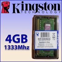 RAM DDR3 4GB 1333Mhz - Para Portátil - Kingston - ¡ NUEVA ! - 100% COMPATIBLE