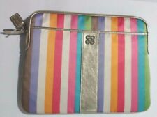 "Coach 13"" Laptop Sleeve with Multi coloured"