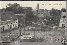 Esquelbecq - Kiosque et Chateau  Old Unposted Postcard