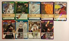Naruto Miracle Battle Carddass Rare Set NR05 9/9