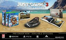Just Cause 3 Collector's Edition Ps4/PlayStation 4 Game Sold-Out New and Sealed+