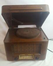 VINTAGE SENTINEL PHONOGRAPH RADIO RECORD PLAYER 284-GA