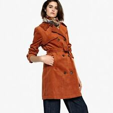 La Redoute collections Belted Corduroy Trench Coat size 14