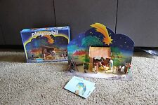 Playmobil #3996 Christmas Nativity set complete w box Free US Shipping