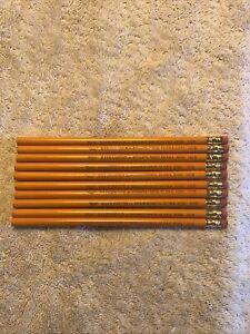 Reliance Ravenwood NEW 1081 No 2 Pencil USA Round Vintage 10 Pencils