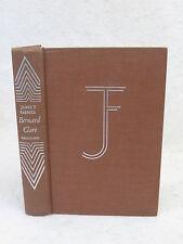 James T. Farrell  BERNARD CLARE  Vanguard Press, New York  c. 1946