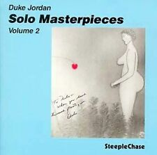 NEW Solo Master Pieces, Vol. 2; Duke Jordan CD, Jazz Piano, SteepleChase New