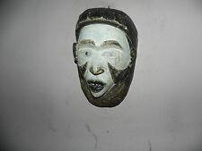 """Arts of Africa - Bakongo Mask - DRC - Congo - Angola - 10.5"""" Height x 7"""" Wide"""