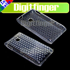 CUSTODIA COVER CASE TPU CRYSTAL PER LG GT540 OPTIMUS GT