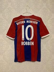 Bayern Munich Home football shirt 10 Arjen Robben 2014 2015 Adidas Size S S86765