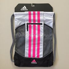 ADIDAS Fat Stripes II Sackpack *Brand New With Tag* Backpack Gymsack Sack Pack