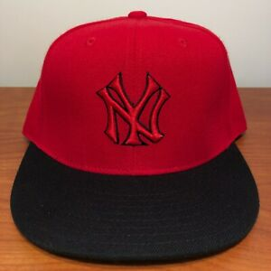 New York Yankees Hat Baseball Cap Fitted 7 3/8 American Needle Vintage MLB NYY