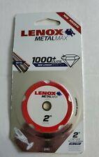 New Listingnew Lenox Metal Max 1000 Cuts Diamond Edge 2 Cutting Saw Blade