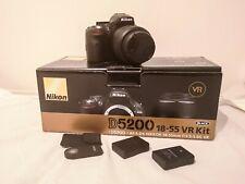 Nikon D5200 24.1MP fotocamera reflex digitale e 18 - 55mm VR Lens