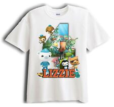 Octonauts Personalized - Birthday T-Shirt Party Favor