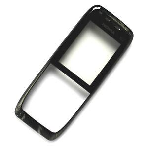 100% Genuine Nokia E51 front housing+glass screen lens Black metal fascia sides