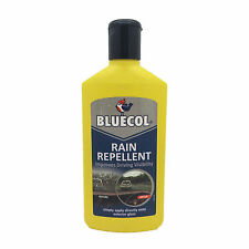 Bluecol Rain Water Repellent Glass Treatment Improves Windscreen Visibility